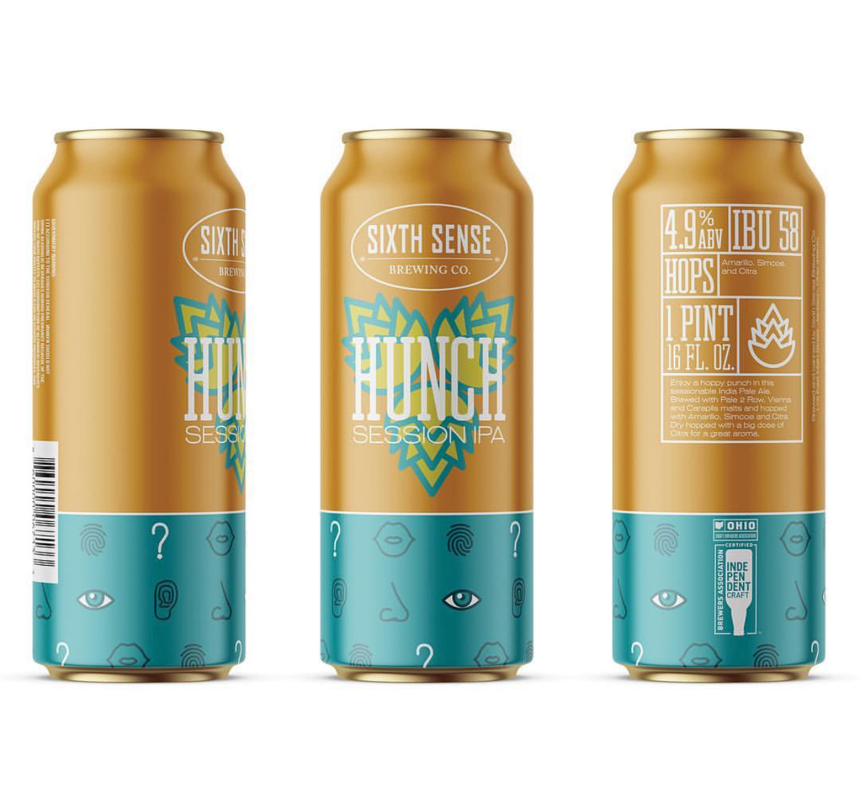 Sixth Sense Brewing Beer / World Brand Design Society
