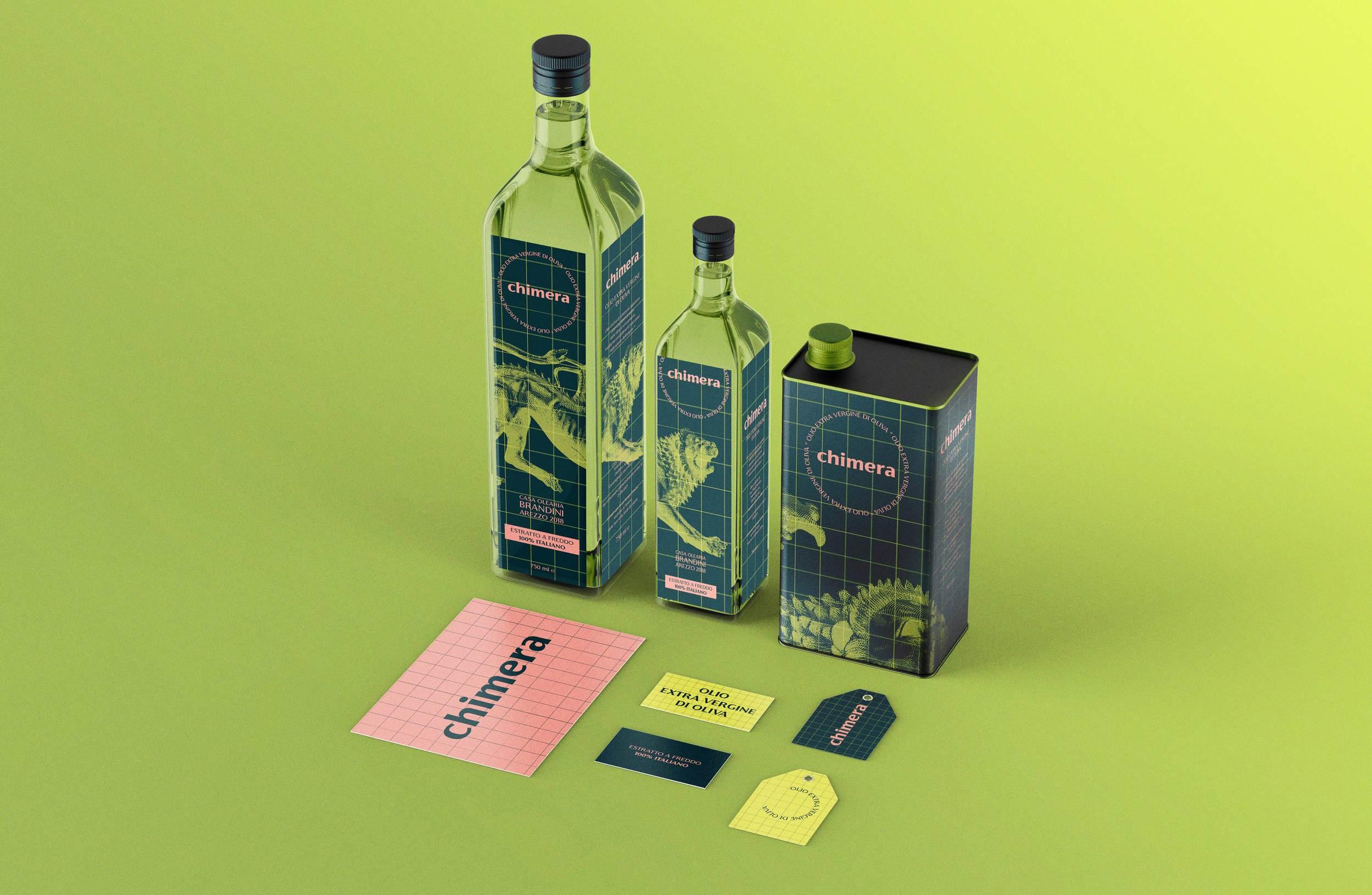 Packaging Design for Oil / World Brand Design Society