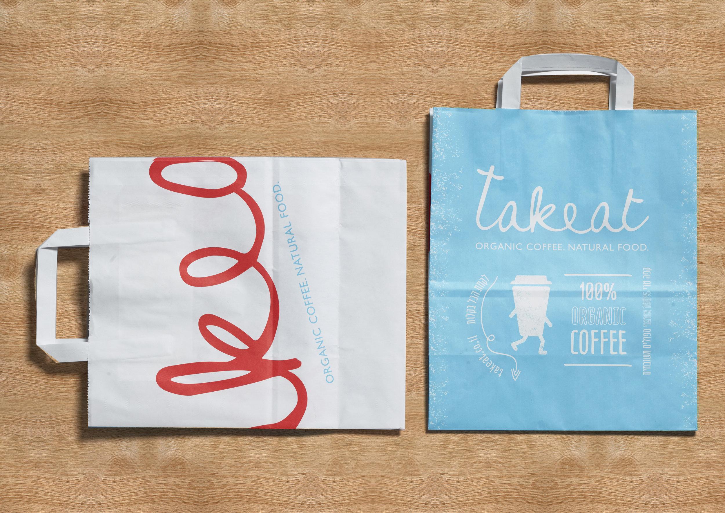 TAKEAT  Organic Fast Food / World Brand Design Society