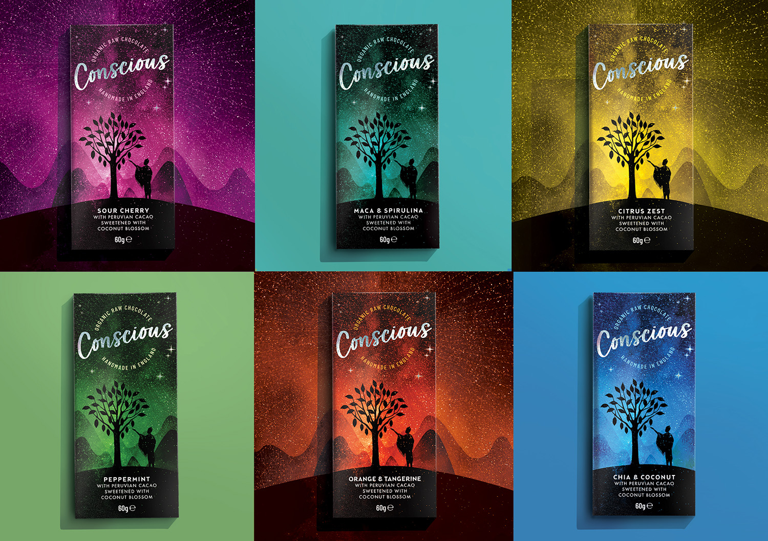The Space Creative Creates Bold New Look for Conscious / World Brand Design Society