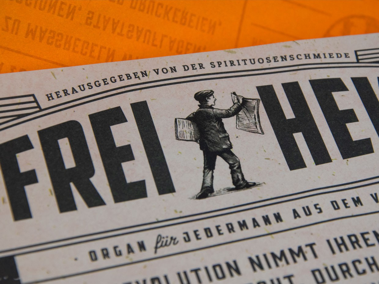 Naming, Branding and Packaging Design for a German Single