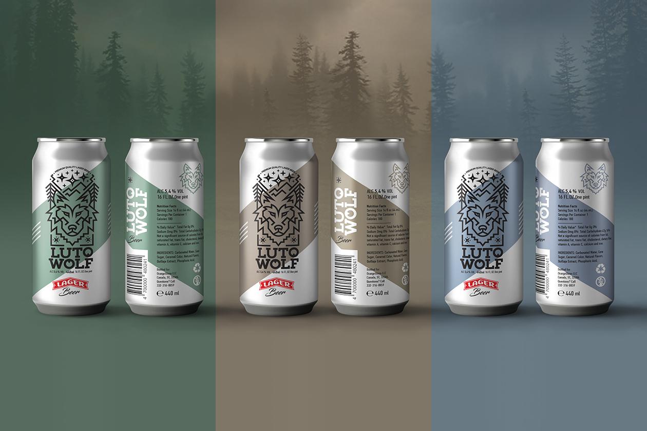 Alexey Lysogorov Design - LutoWolf Lager Beer3.jpg