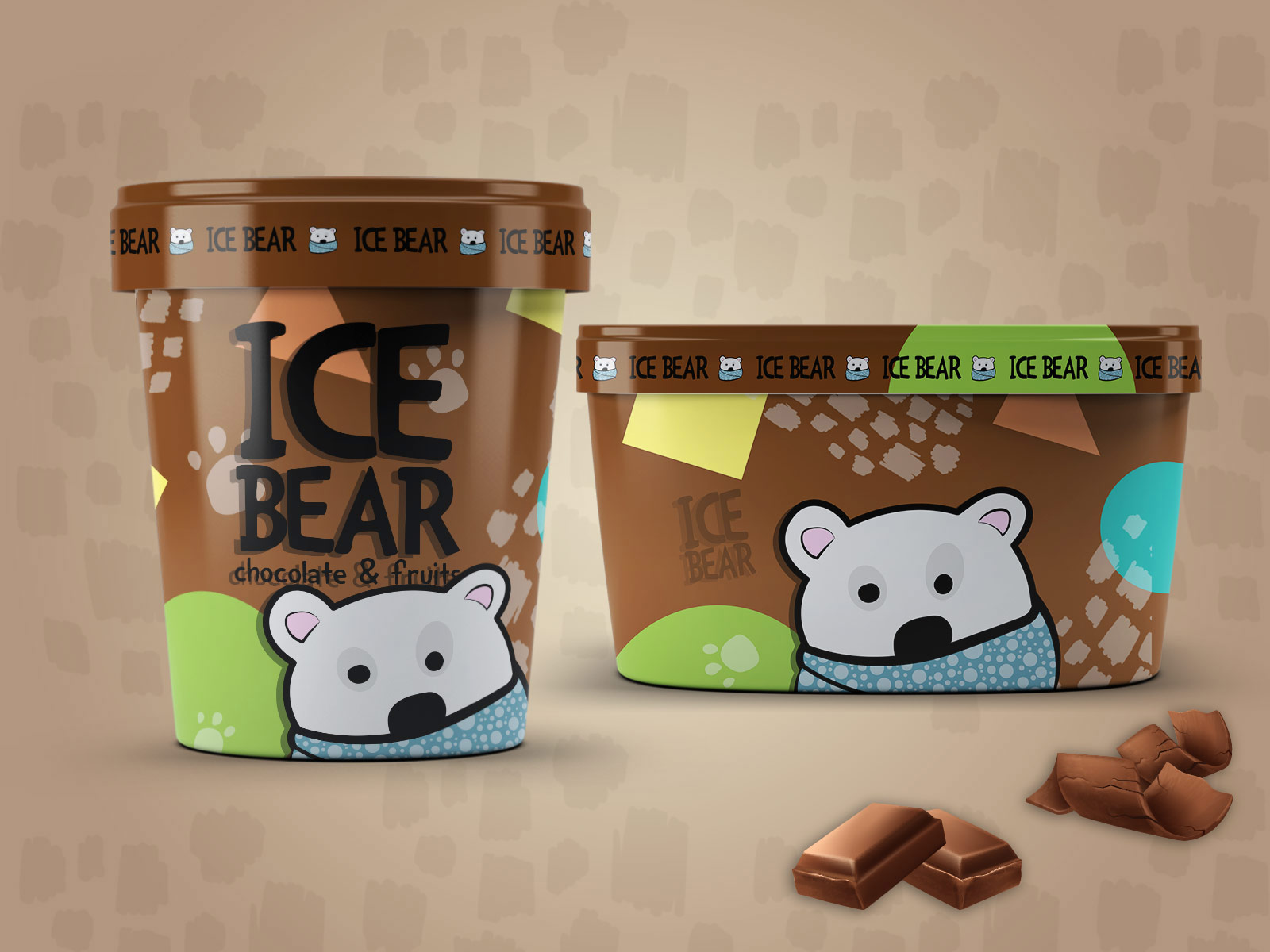 Zeljka Mitrovic - Ice Bear Ice Cream2.jpg