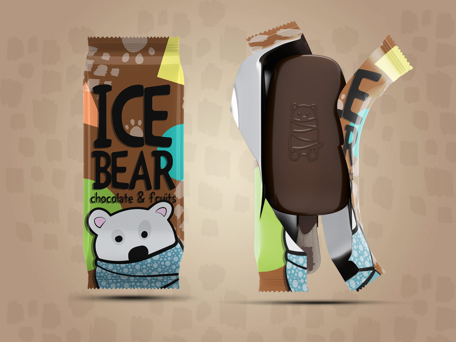 Zeljka Mitrovic - Ice Bear Ice Cream3.jpg