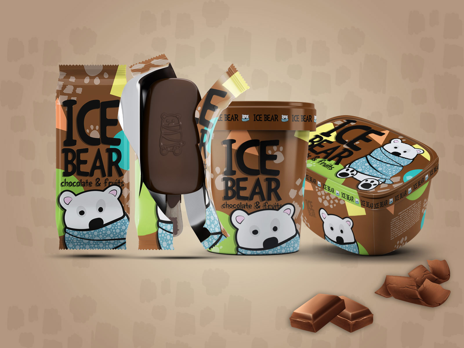 Zeljka Mitrovic - Ice Bear Ice Cream1.jpg