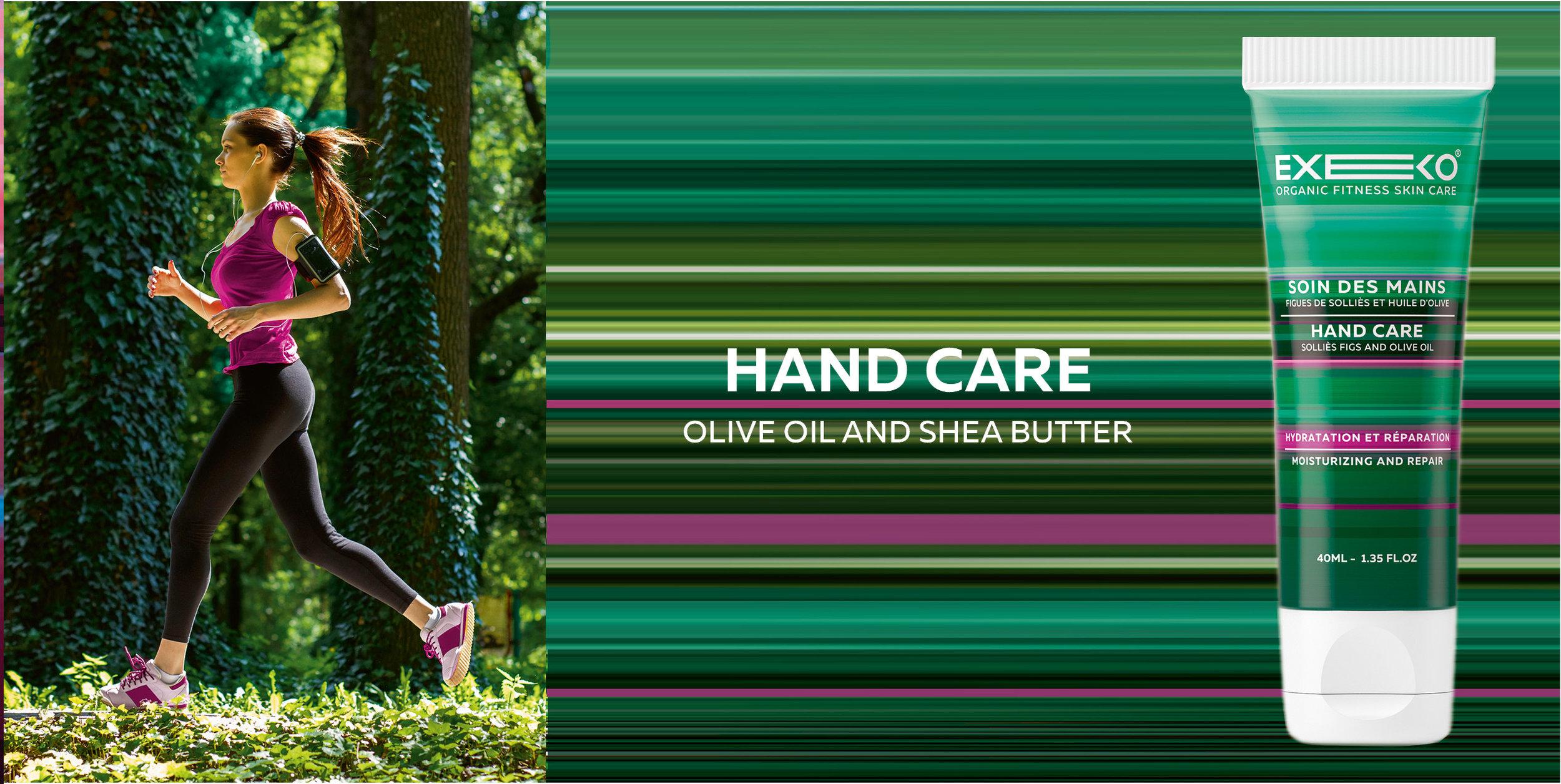 EXEKO - Organic Fitness Skin Care from Paris BRAND DESIGN