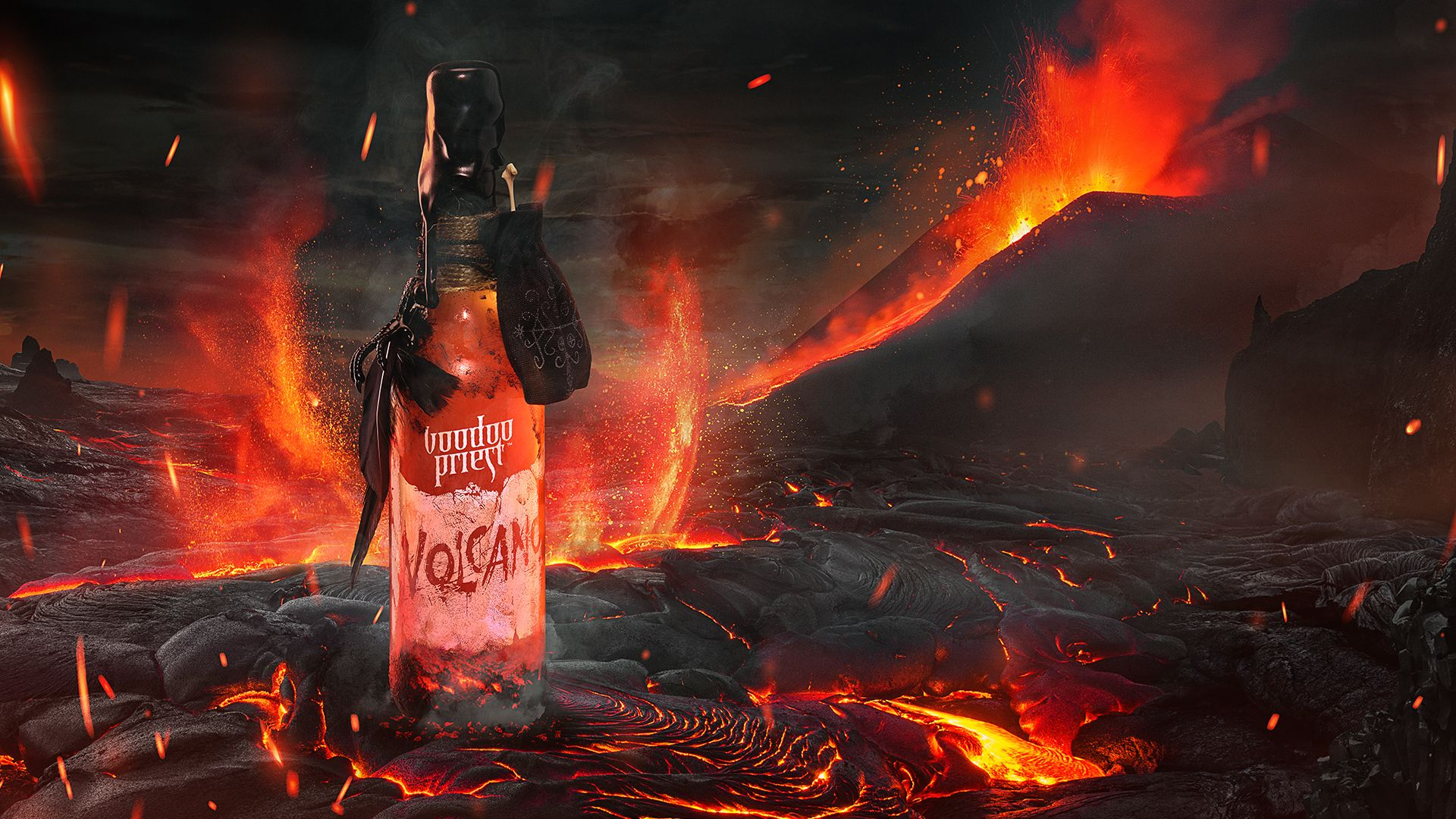 Heats Like A Sip From The Volcano BRAND DESIGN World Brand