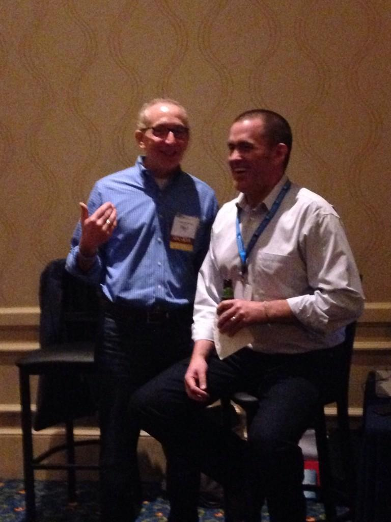 Howard Teibel & Pete Wright — Preparing for Navigating Change Live at EACUBO 2014