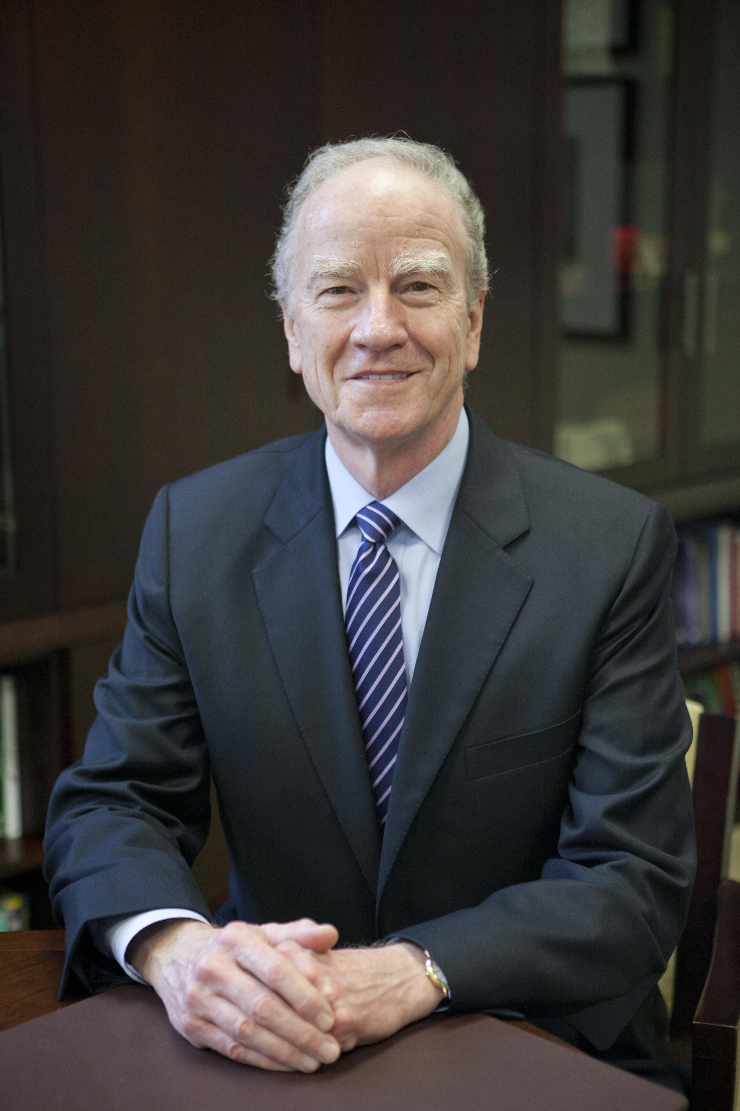 Dr. George Martin, President, St. Edward's University
