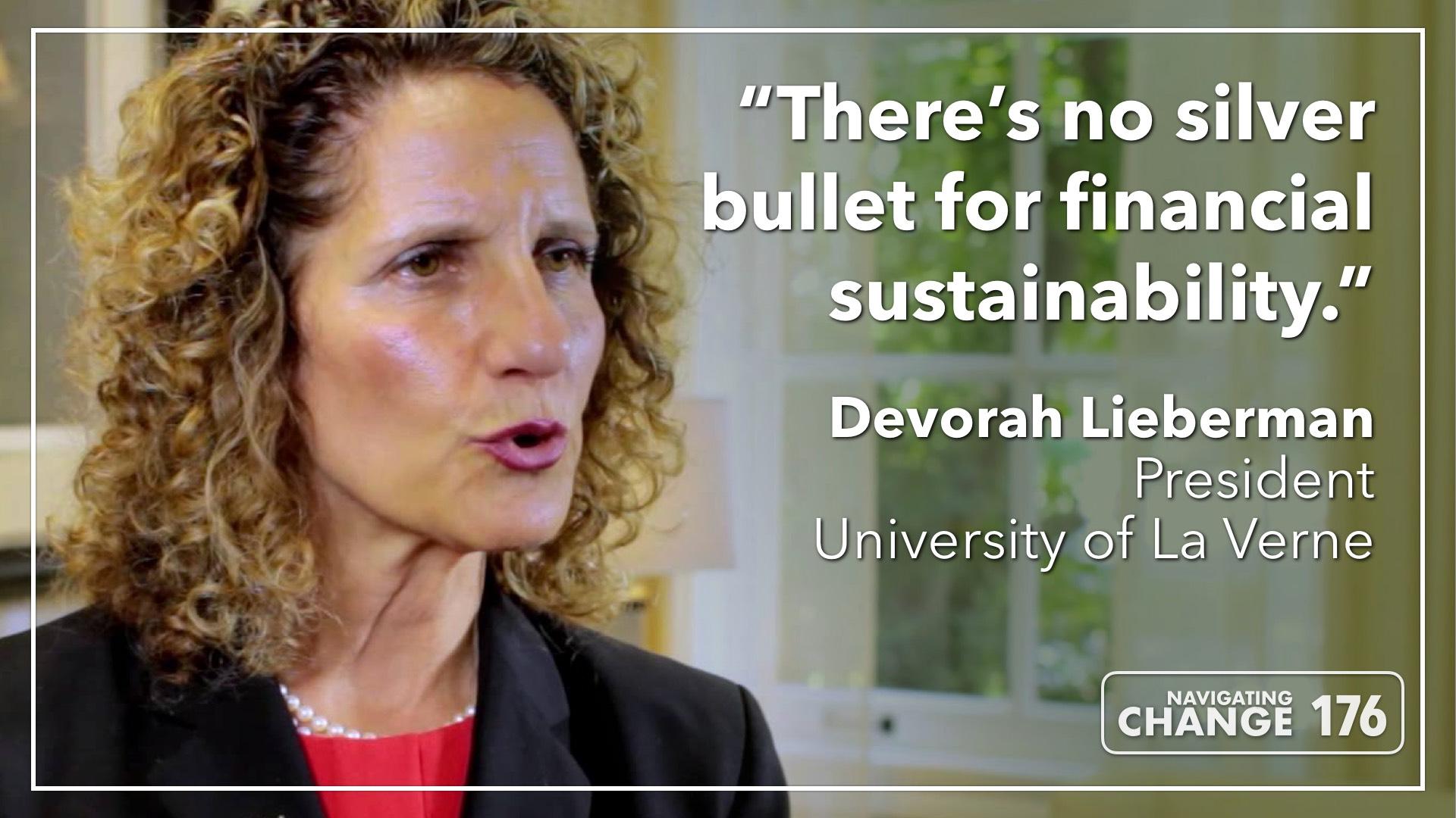 Listen to Devorah Lieberman on The Navigating Change Podcast