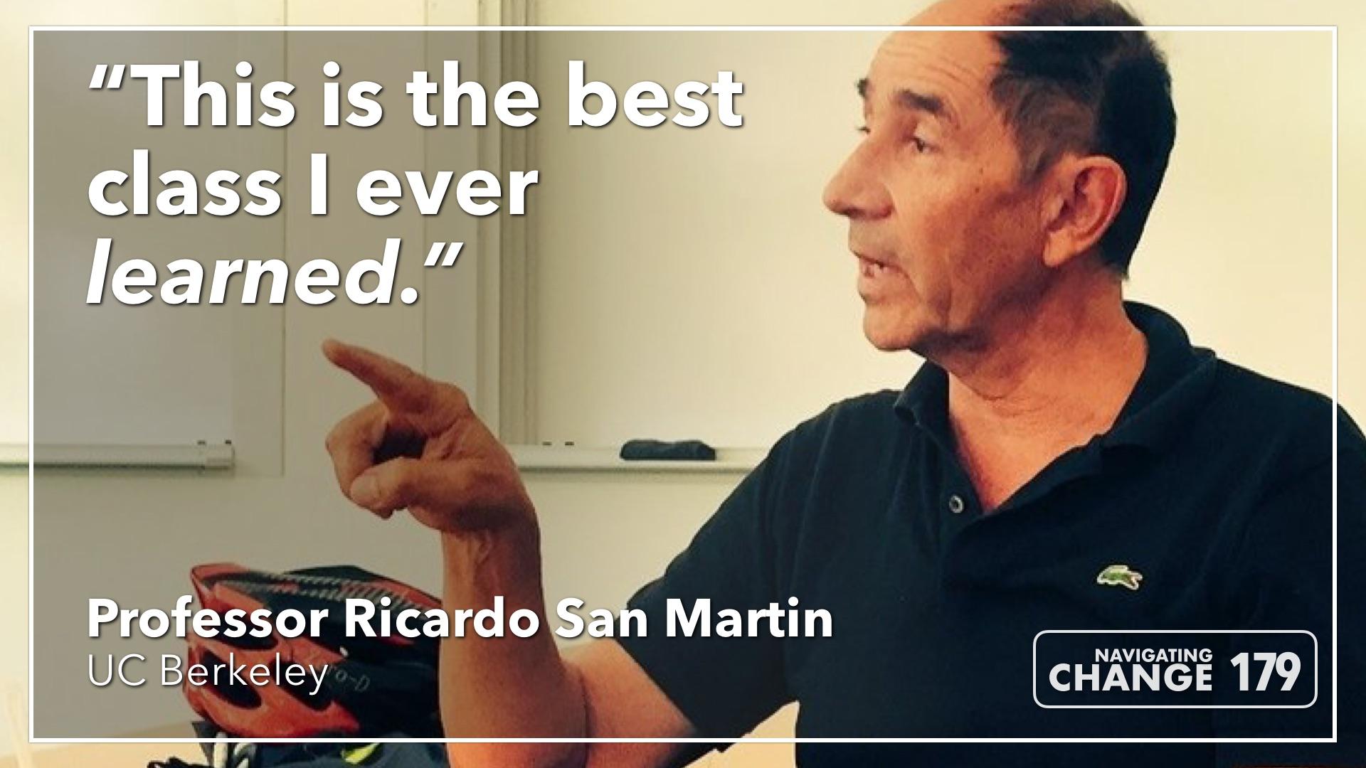 Listen to Ricardo San Martin on Navigating Change: The Education Podcast