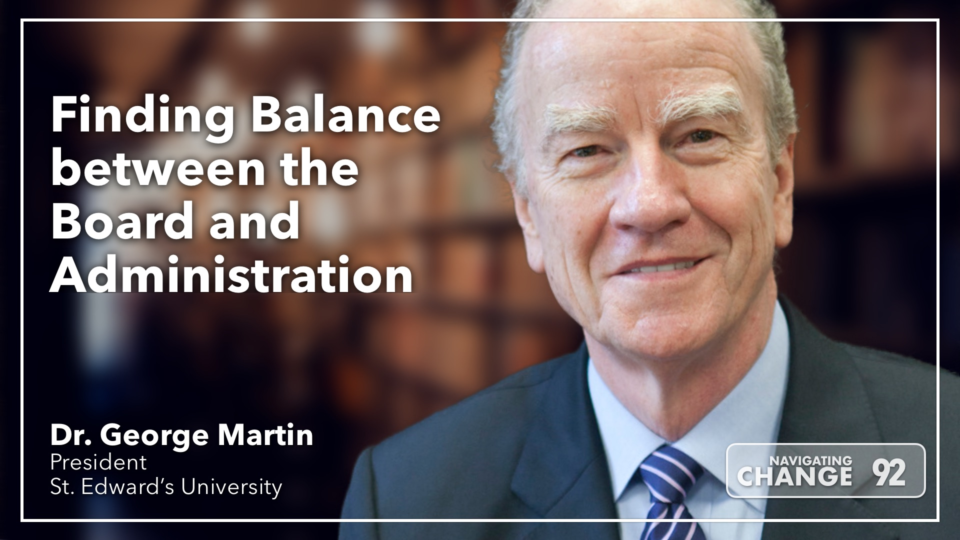 Listening to Balancing Board and Administration with George Martin on Navigating Change The Education Podcast