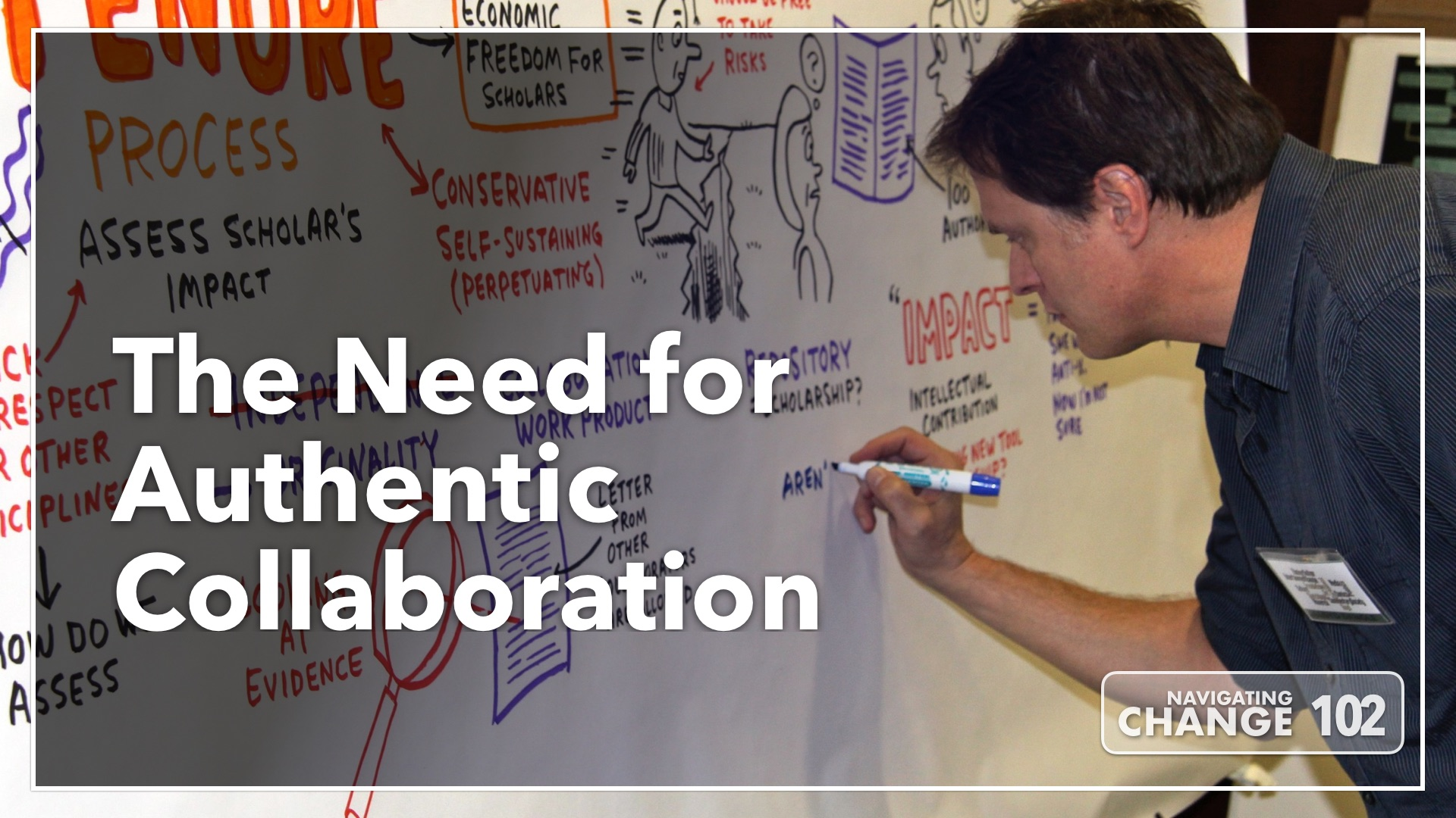 Listen to The Need for Authentic Collaboration on Navigating Change The Education Podcast