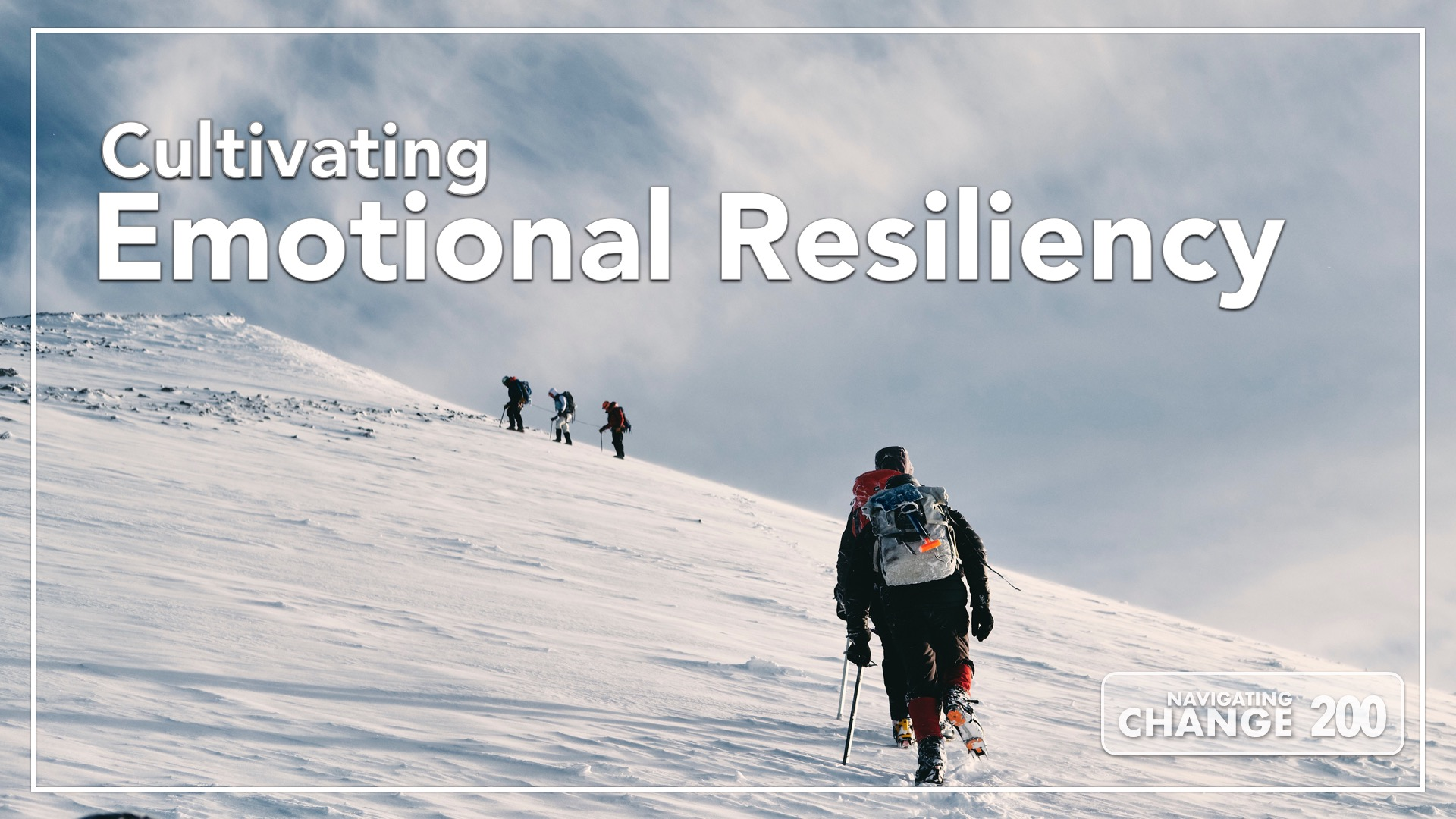Listen to Emotional Resiliency on Navigating Change the Education Podcast