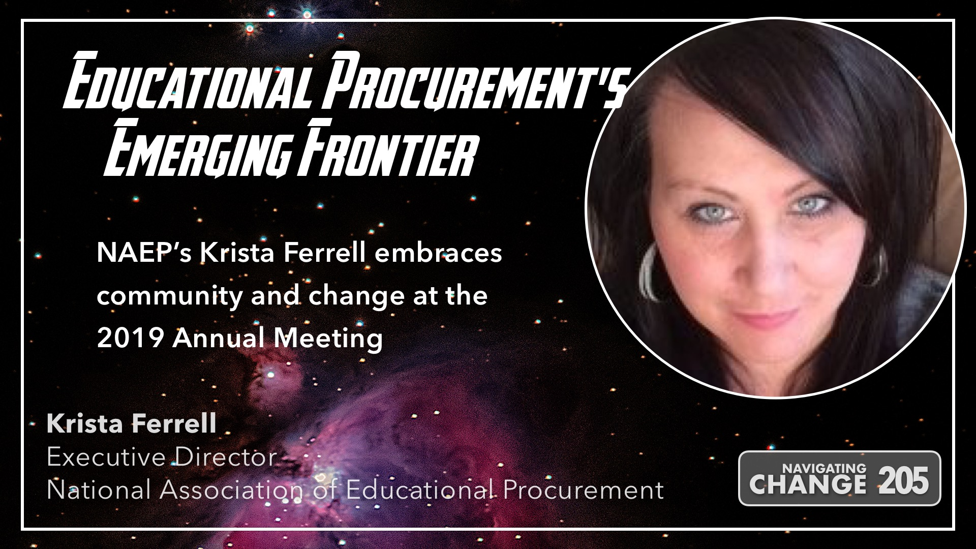 Navigating Change Podcast with Guest Krista Ferrell