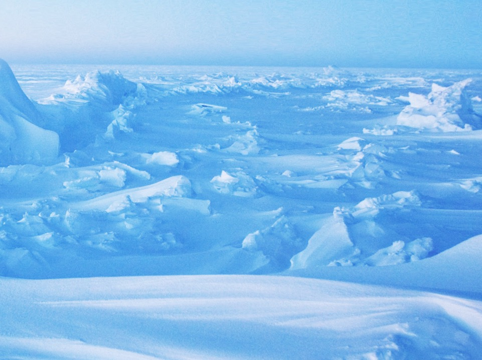 This background layer is a google image searched photoof the north pole.