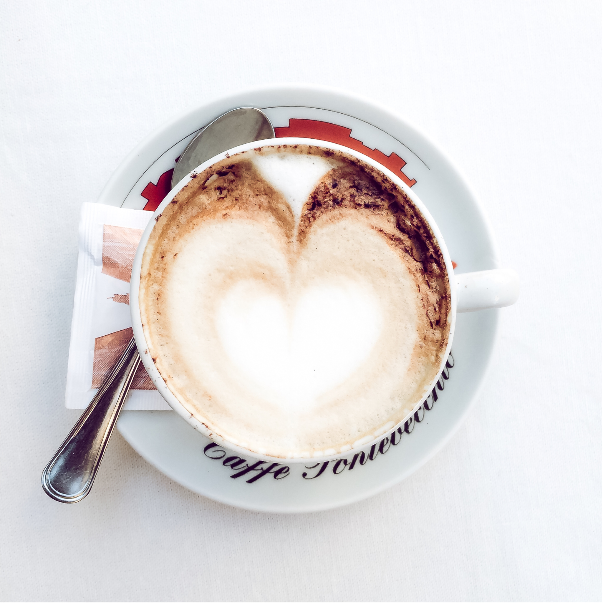 Latte bliss in Florence 2015.