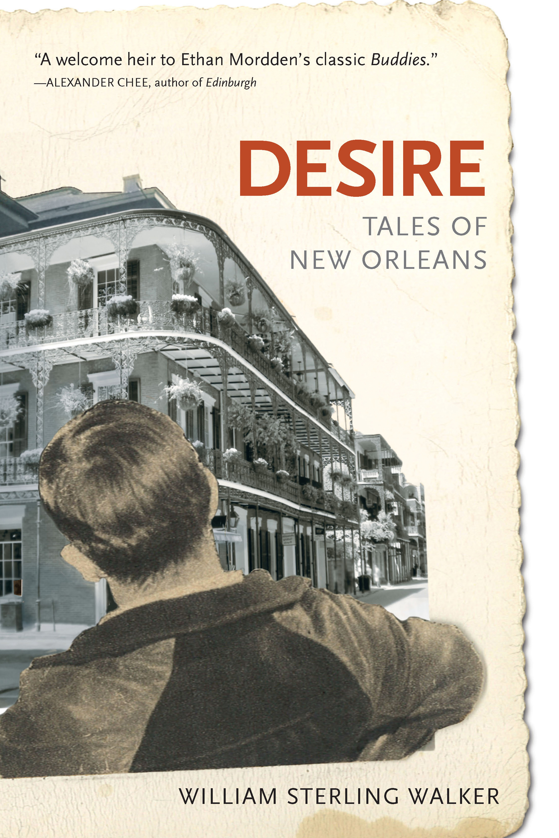 Desire: Tales of New Orleans front cover