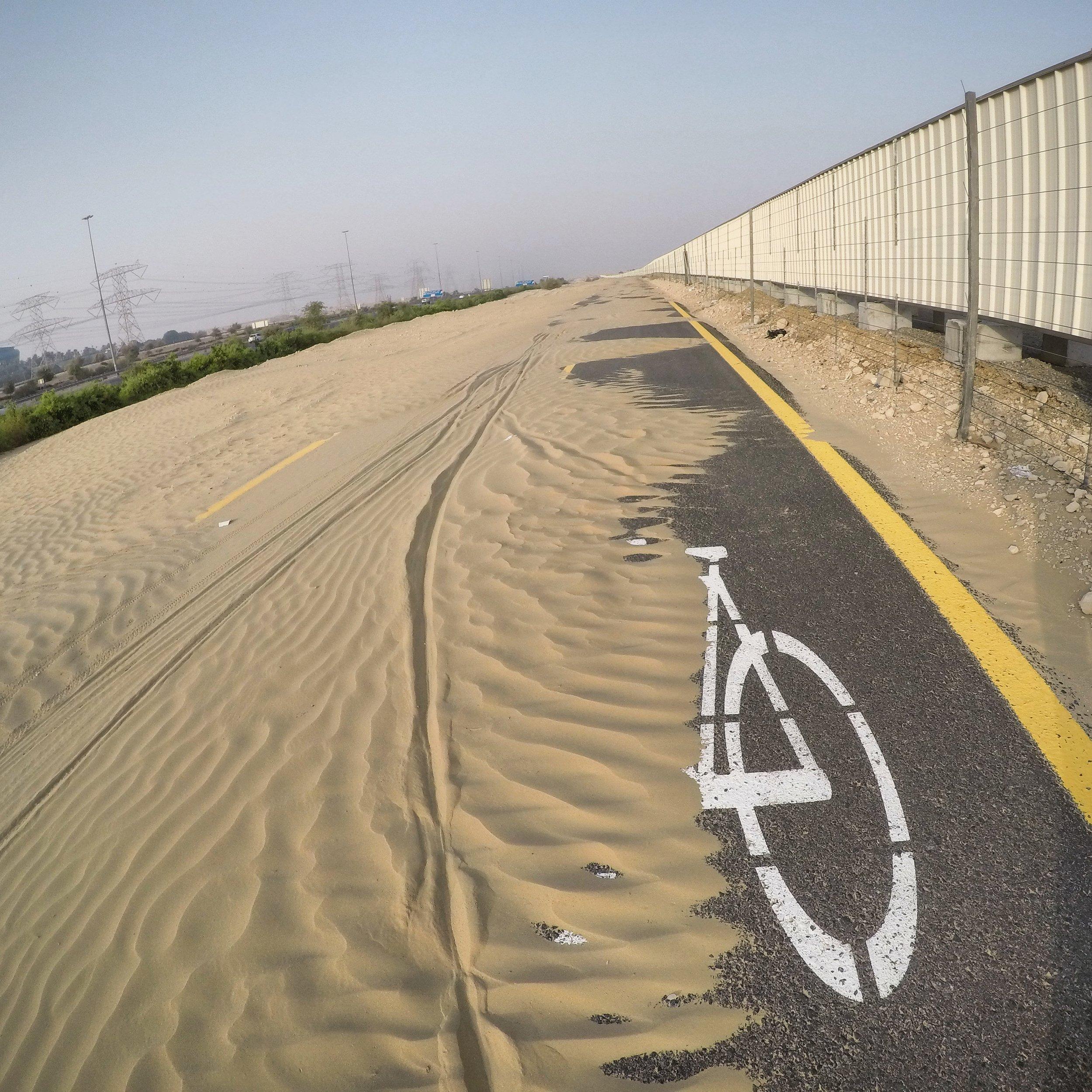 Al Qudra Bike Path, Dubai, UAE
