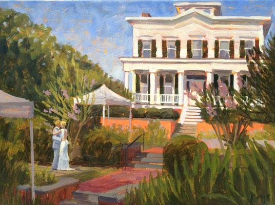 City Club de Rossete | Live Wedding Painting