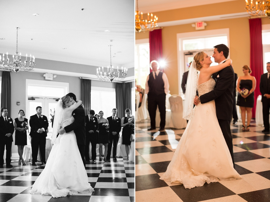 First Dance - Southern Wedding Ballroom Gown // Chris Isham Photography