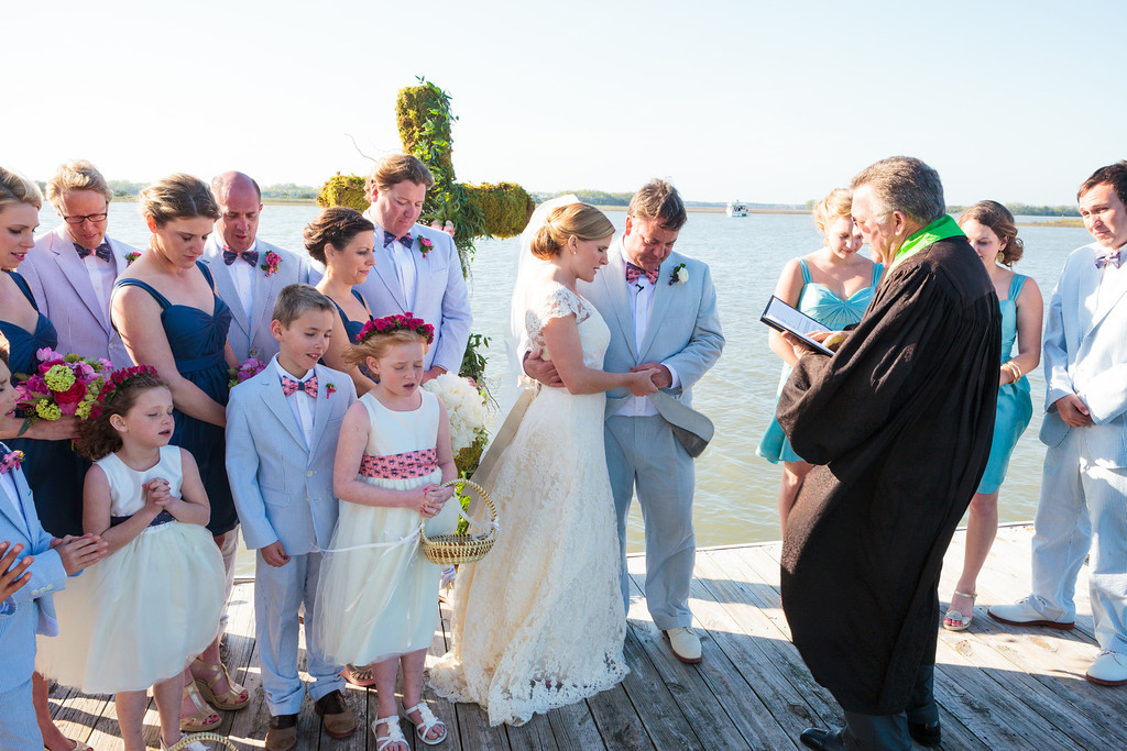 Charleston waterfront wedding // Wed on Canvas // Photo courtesy of Hunter McRae Photography
