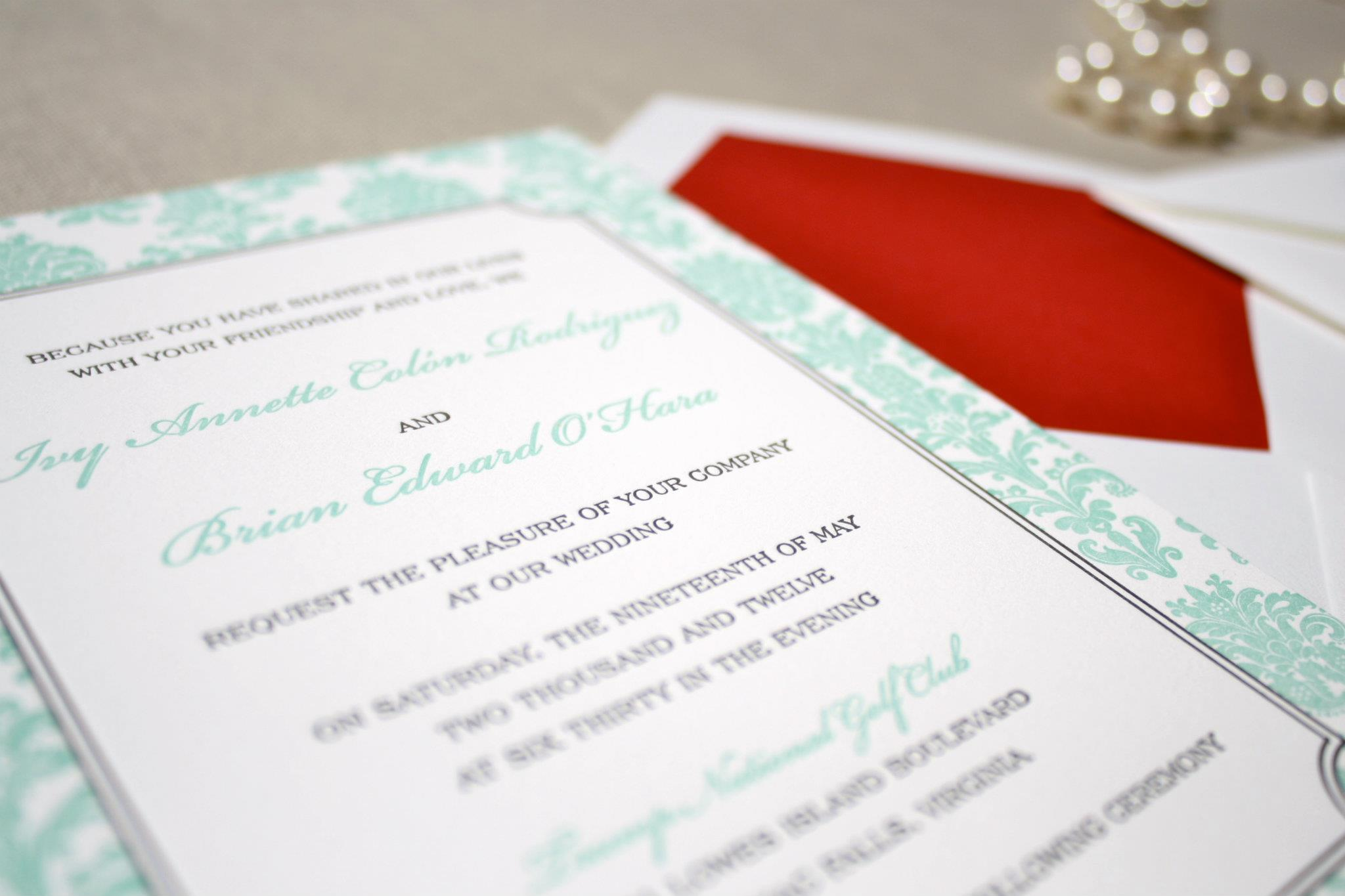 The-Silver-Starfish-Mint-and-Raspberry-Wedding-Invitations