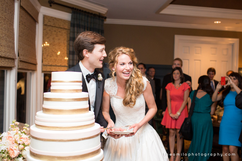 Live Wedding Artist Ben Keys, wedding painter of Wed on Canvas | Theo Milo Photography | Country Club of Landfall | Wilmington, NC