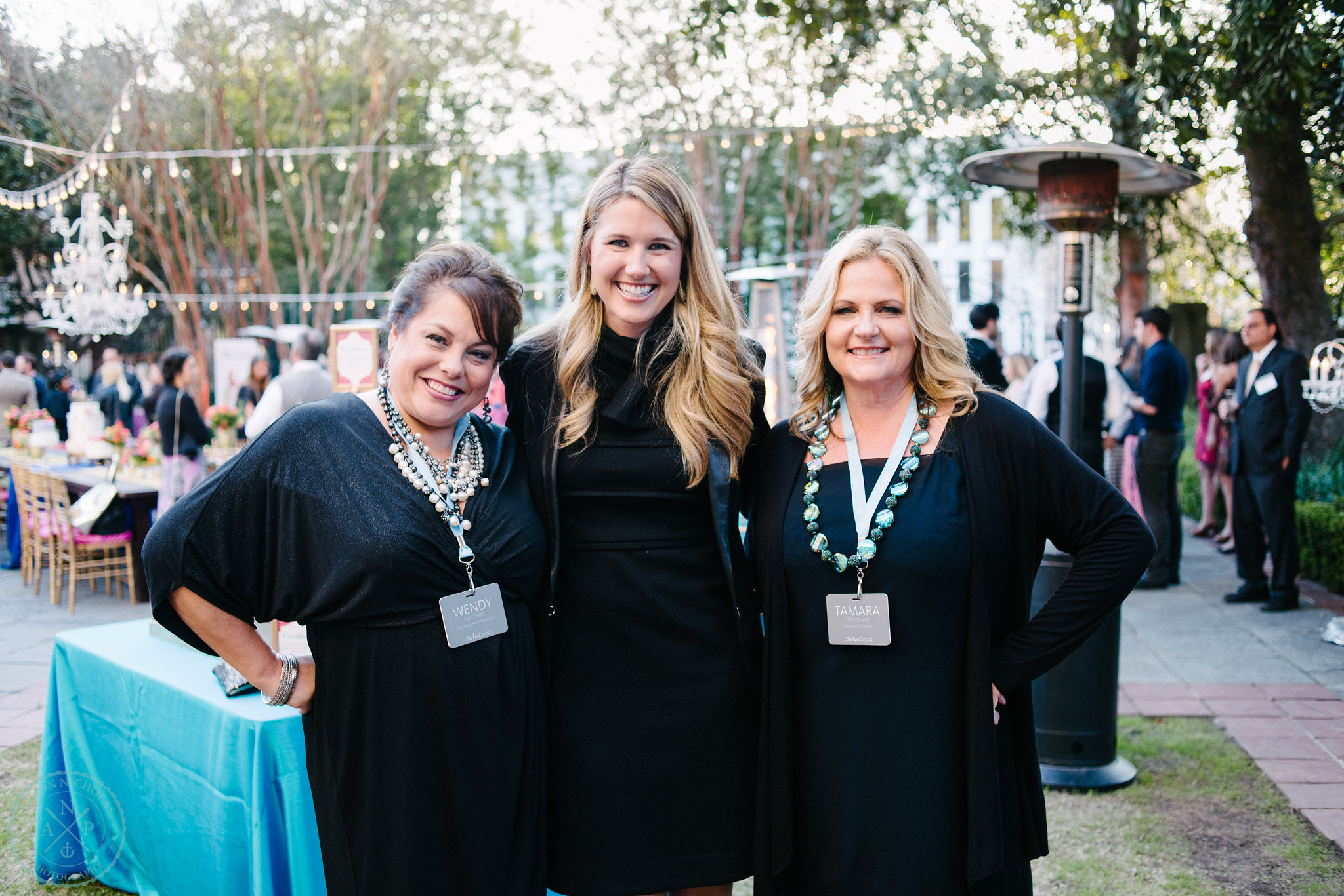 The lovely ladies of  The Knot  and sponsors of the 2014 Annual Market Mixer.