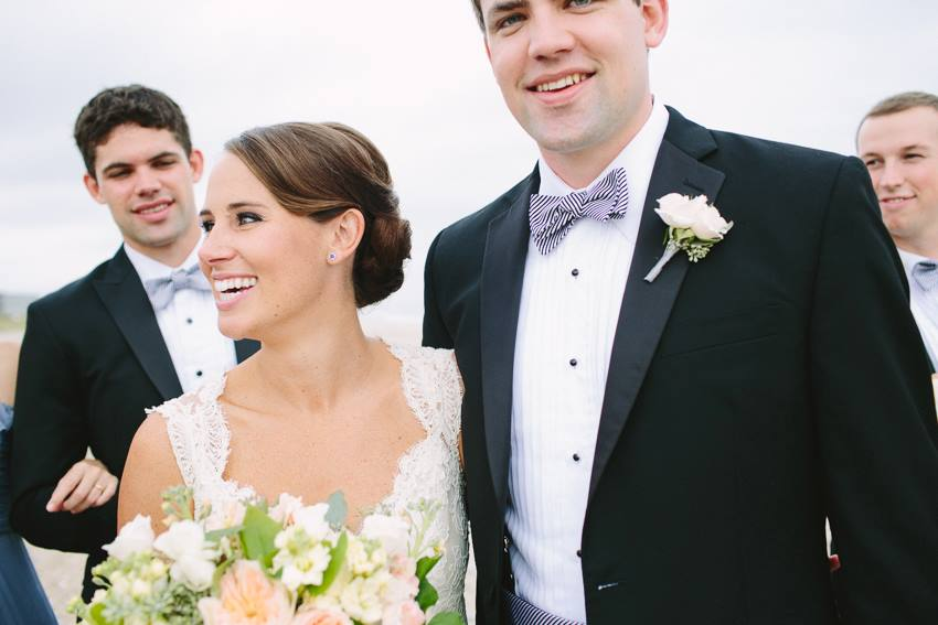 just-married-wed-on-canvas-wrightsville-beach-wedding-painter-ben-keys