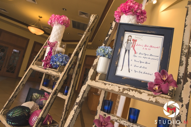 ladder-for-escort-cards-with-kippah-and-yarmulke-bat-mitzvah-painting