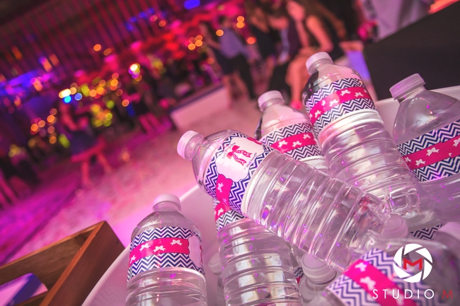custom-bottles-of-water-with-event-theme-logo-bat-mitzvah-south-florida-event-artist-ben-keys