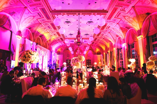 the-Mediterranean-ballroom-at-the-breakers-palm-beach-wedding-artist-ben-keys-painting-live-during-reception-miami-bride