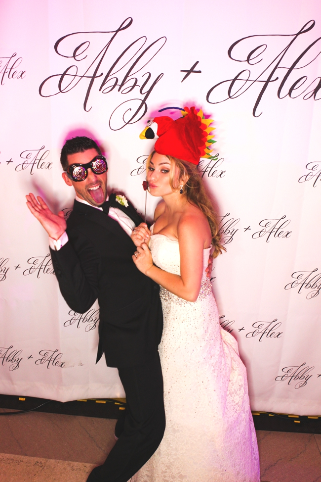 step-and-repeat-photo-booth-classy-luxury-alternative-wedding-painting-palm-beach-the-breakers