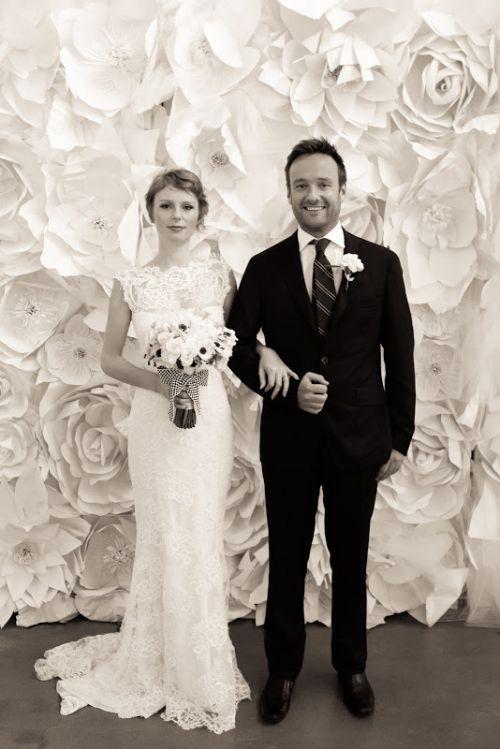 Photo by Donna Newman for Martha Stewart Weddings | Bridal Market 2012