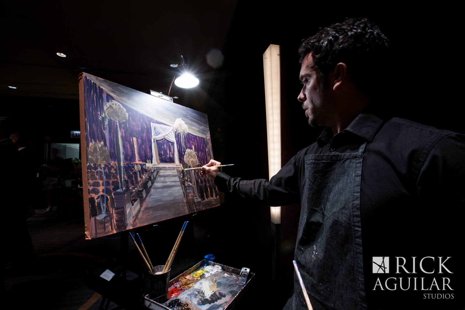 wedding-painter-ben-keys-live-wedding-artist-of-wed-on-canvas-art-wedding-chicago-charleston-miami