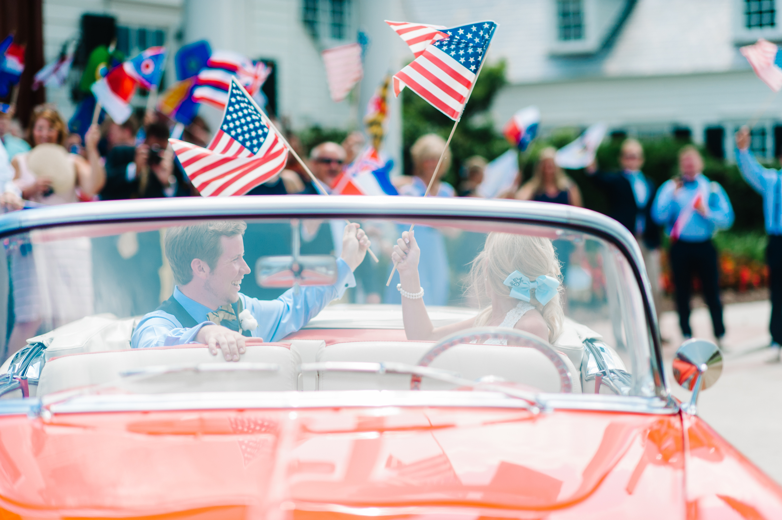 american-flag-wedding-1950s-checy-getaway-car-wed-on-canvas-ben-keys-stunning-and-brilliant-events