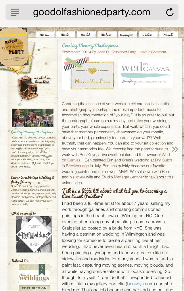 good-ol-fashioned-blog-feature-wed-on-canvas-colorado-wedding-artist-ben-keys