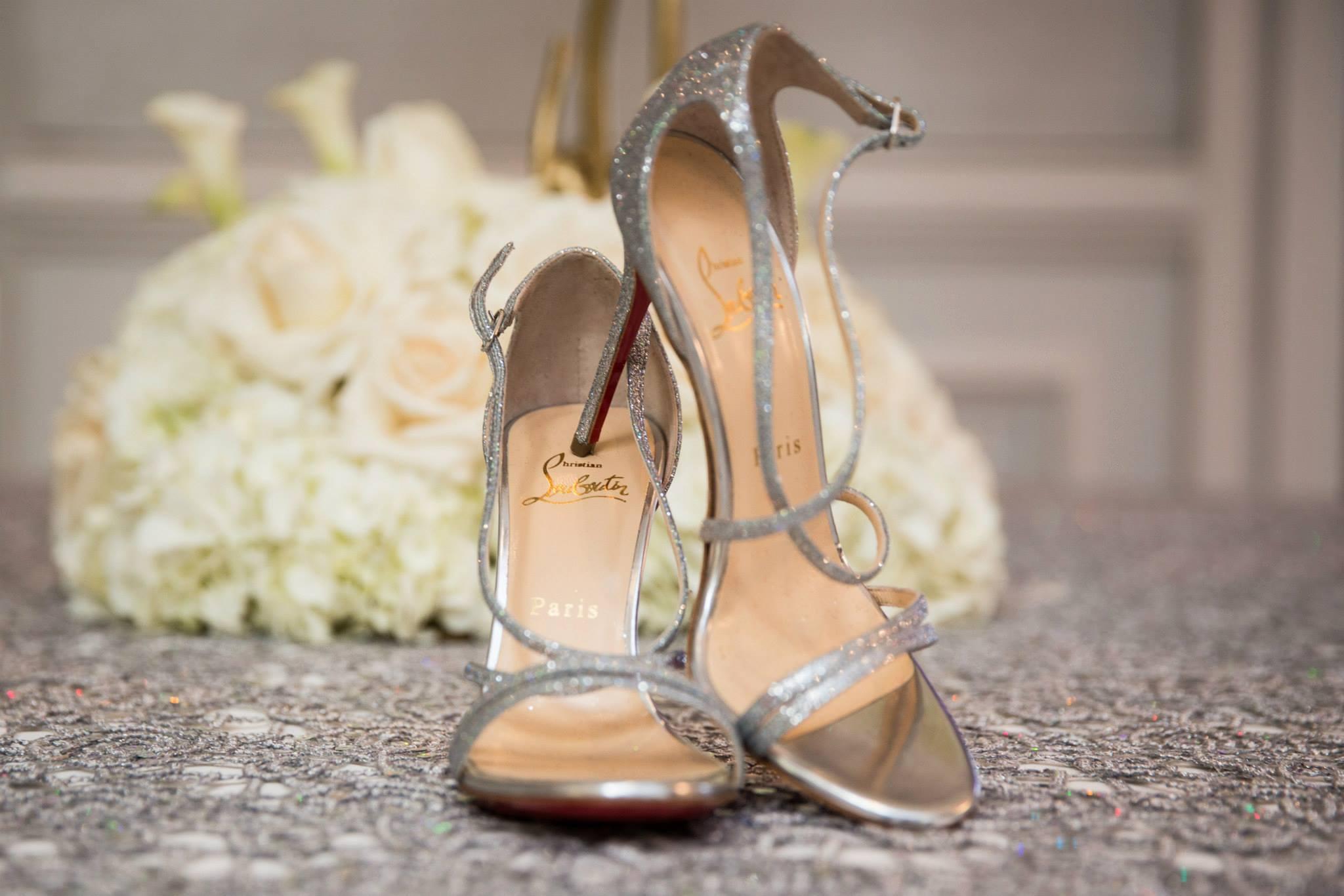 christian-louboutin-paris-bridal-shoes-glitter-sparkle-strap-heels