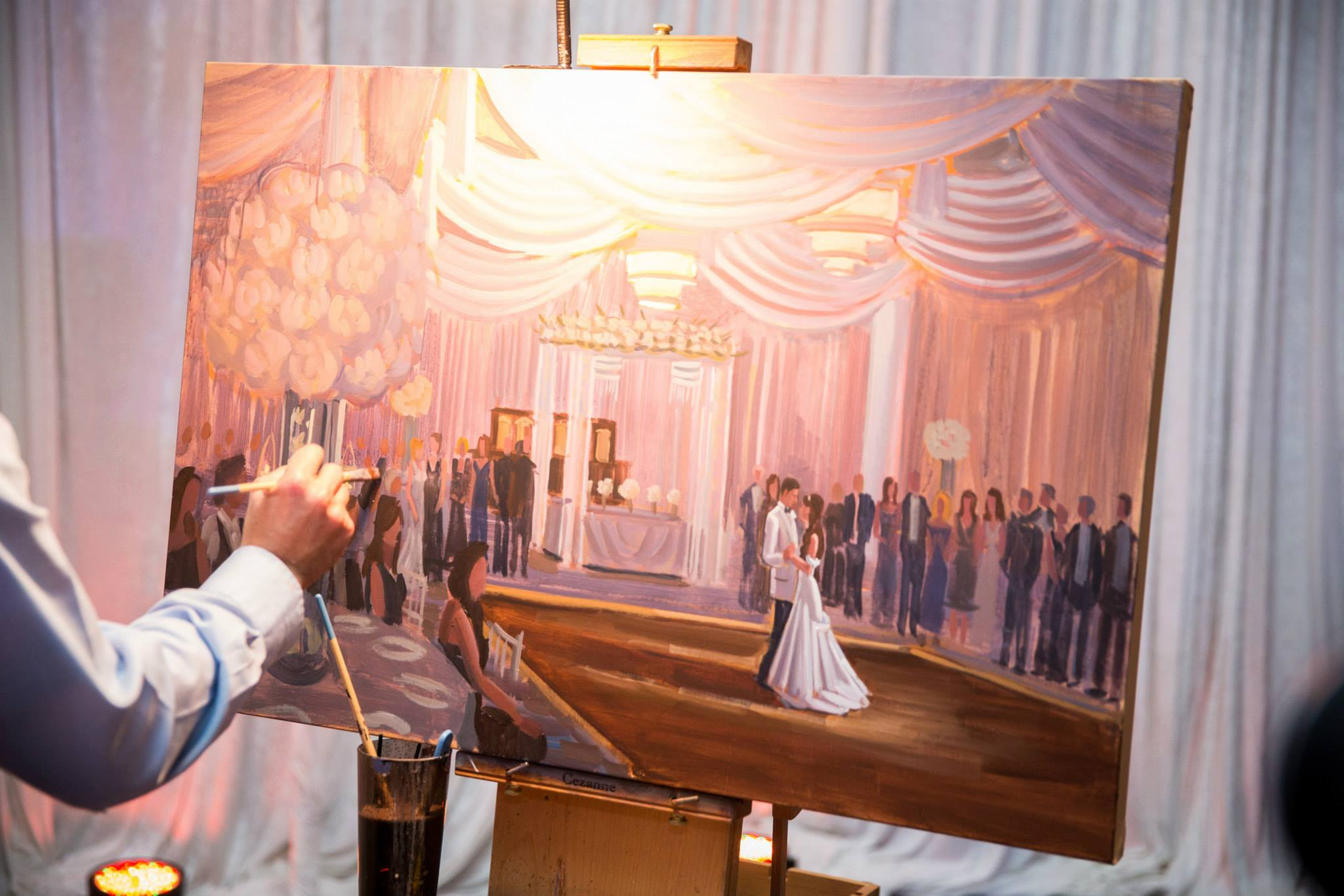 wedding-painting-the-polo-club-boca-raton-florida-event-artist