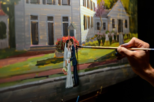 wed-on-canvas-ben-keys-wedding-artist-painting-live-wed-on-canvas-new-castle-wentorth-by-the-sea