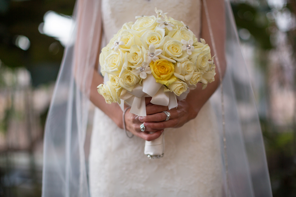 chicago-bride-crystals-in-bouquet-yellow-roses-bridal-portrait