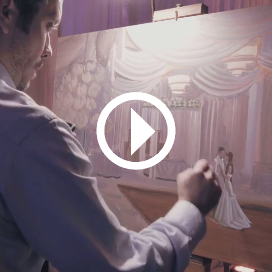wed-on-canvas-wedding-artist-ben-keys-painting-live-during-miami-new-york-paris-wedding