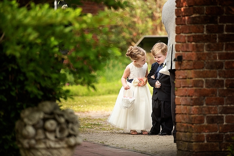 tryon-palace-new-bern-latham-garden-wedding-flower-girl-and-ring-bearer-holding-hands