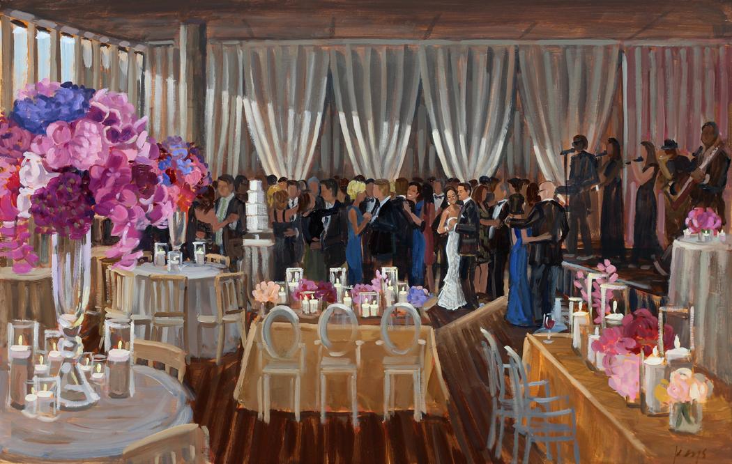 Mint Museum | Charlotte Wedding Painting