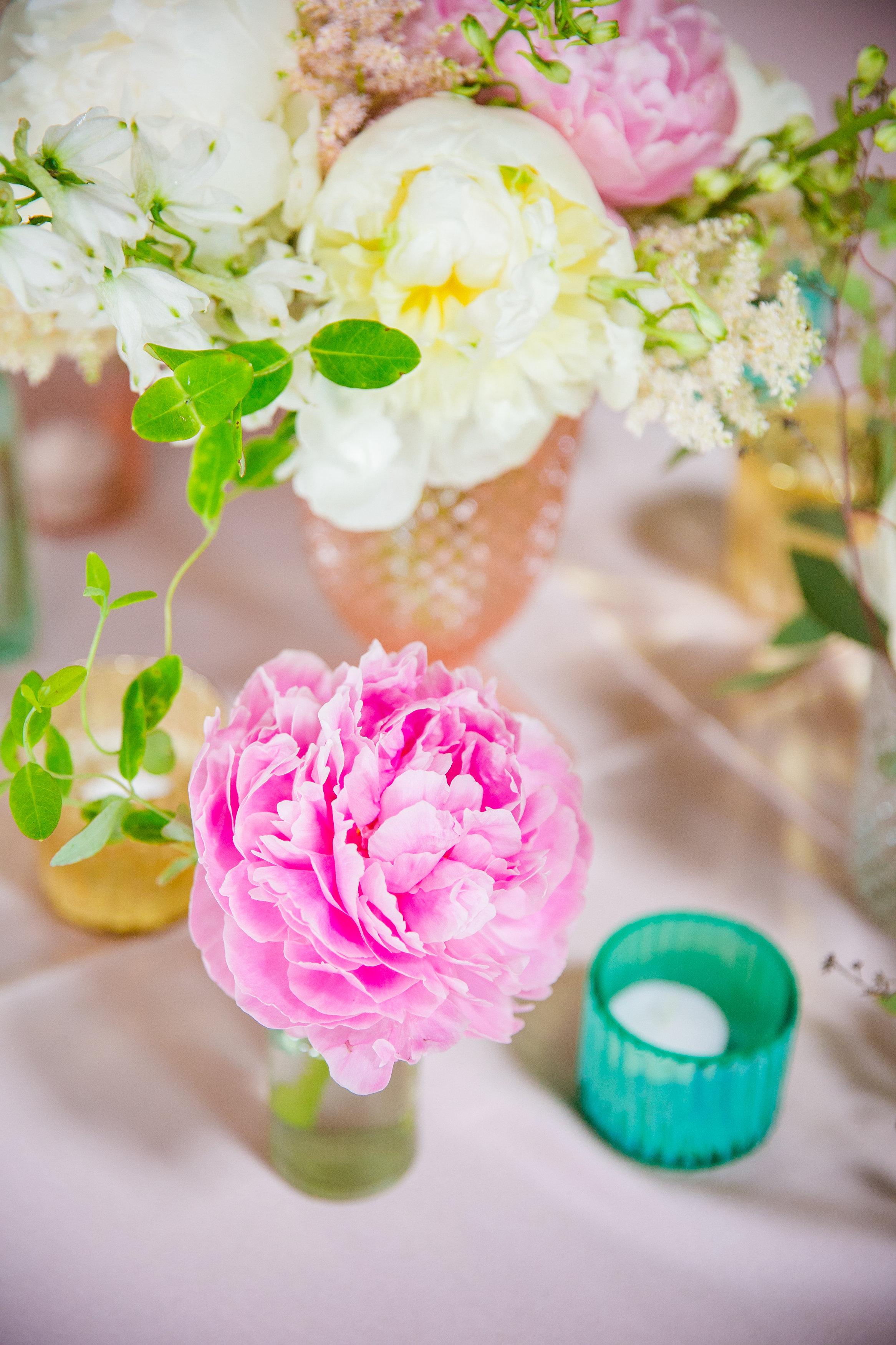 vintage-bottles-for-wedding-reception-table-centerpieces