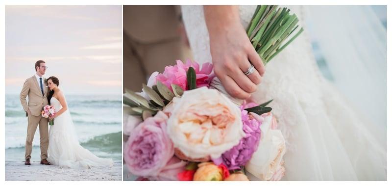 colorful-bridal-bouquet-beach-wedding