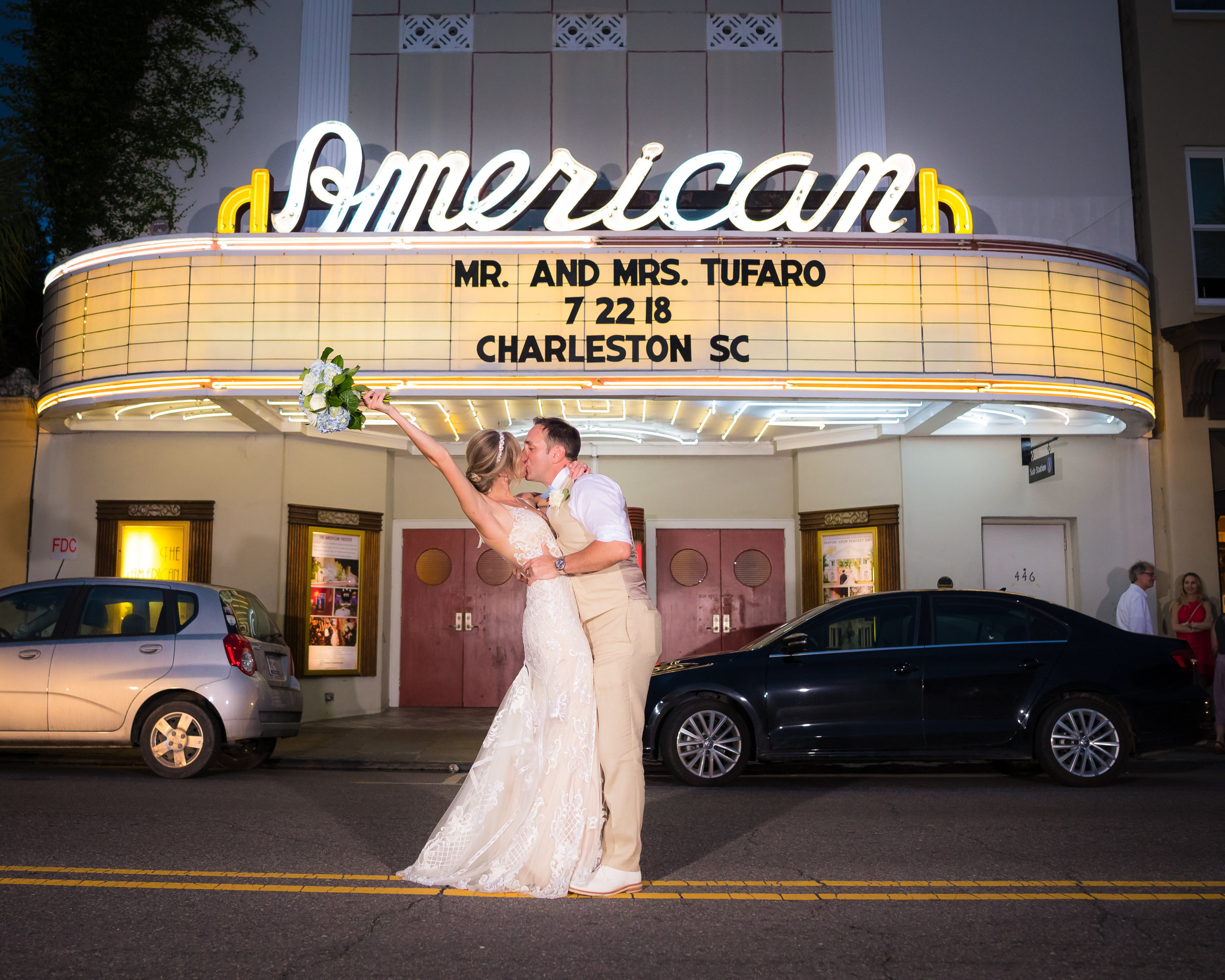 charleston-american-theater-wedding-announcement