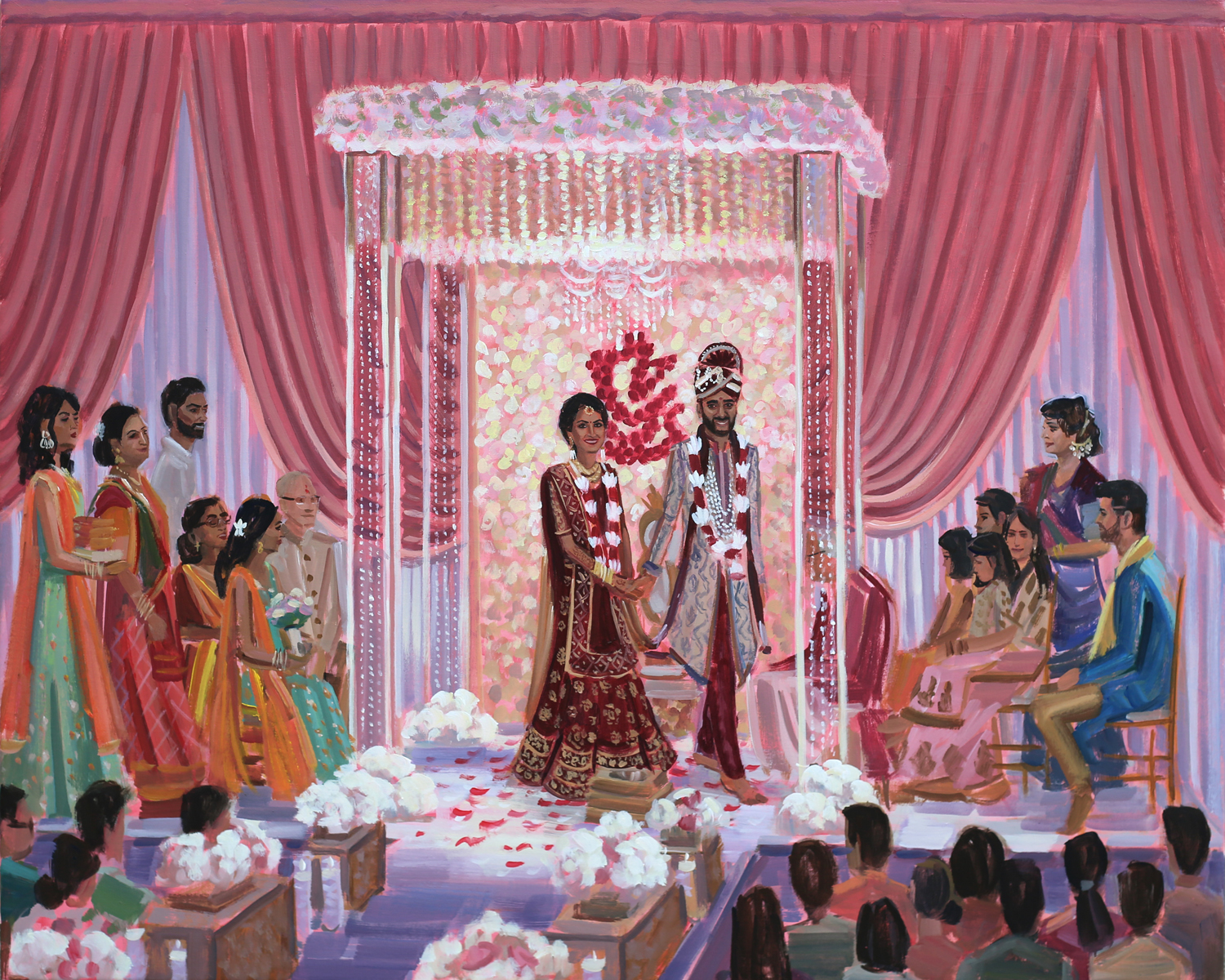 live-indian-wedding-painter-chicago