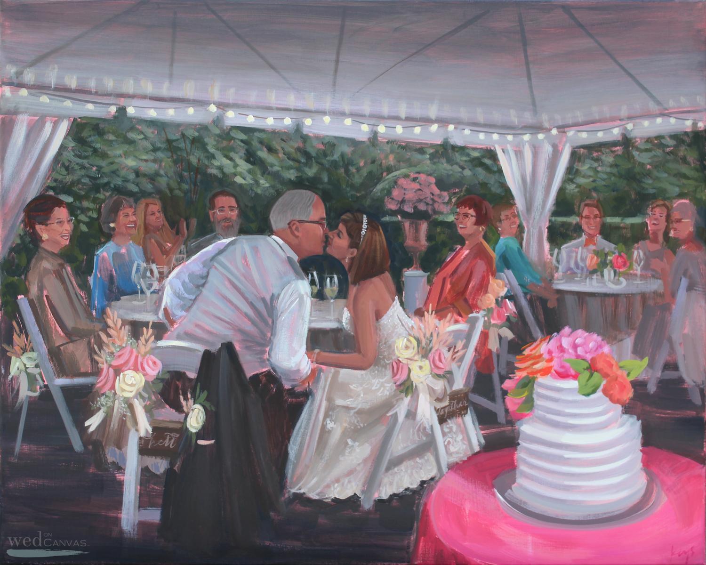 Wedding Painting, Painting from Photos, Sandra Wade, Virginia.jpg